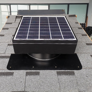 25w 30W Solar Attic Vent Fan for House