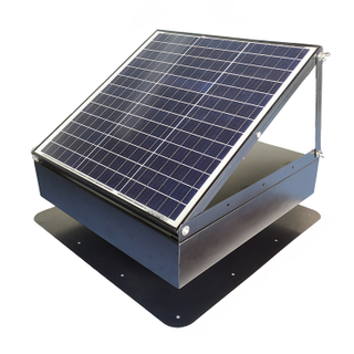 40W Adjustable Solar Attic Vent Fan For House